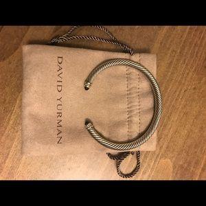 David Yurman onyx and diamond bracelet